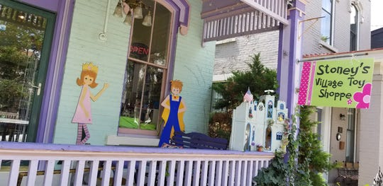 Stoney's Village Toy Shoppe is located on West Sixth Street in Covington.