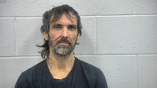 Steven Lienhart, in a Nov. 27, 2018, jail booking photo on charges including trafficking in methamphetamine.