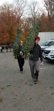 Scout tree sales help troops pay for camps and activities throughout the year.