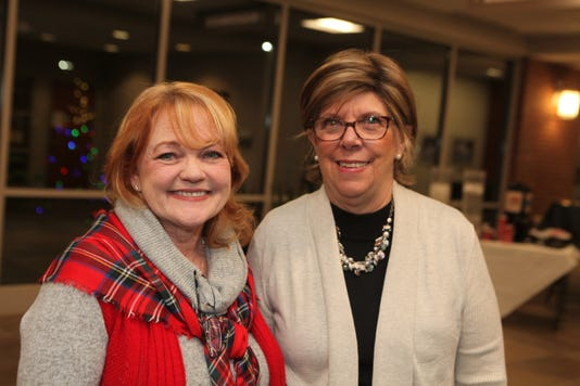 Lynne Griffey And Judith Castleberry Co Chairs Of This Years Love Lights A Tree Ceremony For Clarksville Montgomery Countys American Cancer Society