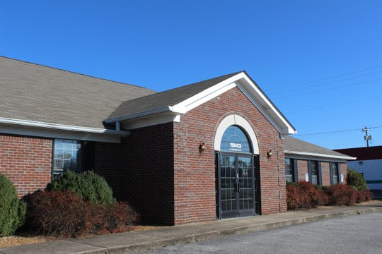 The escape room business Excape Games operates in this former business office on Fort Campbell Boulevard in Clarksville, one of only two escape game businesses in town.