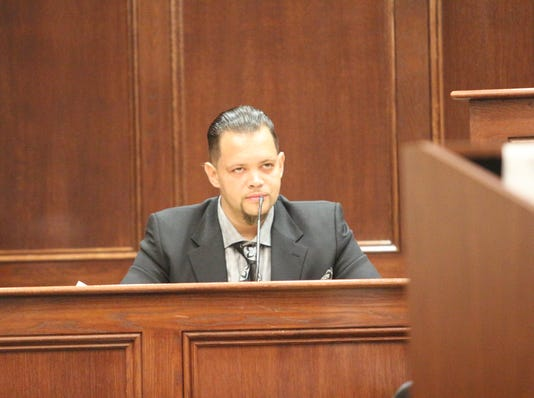 Christopher Williams on the stand