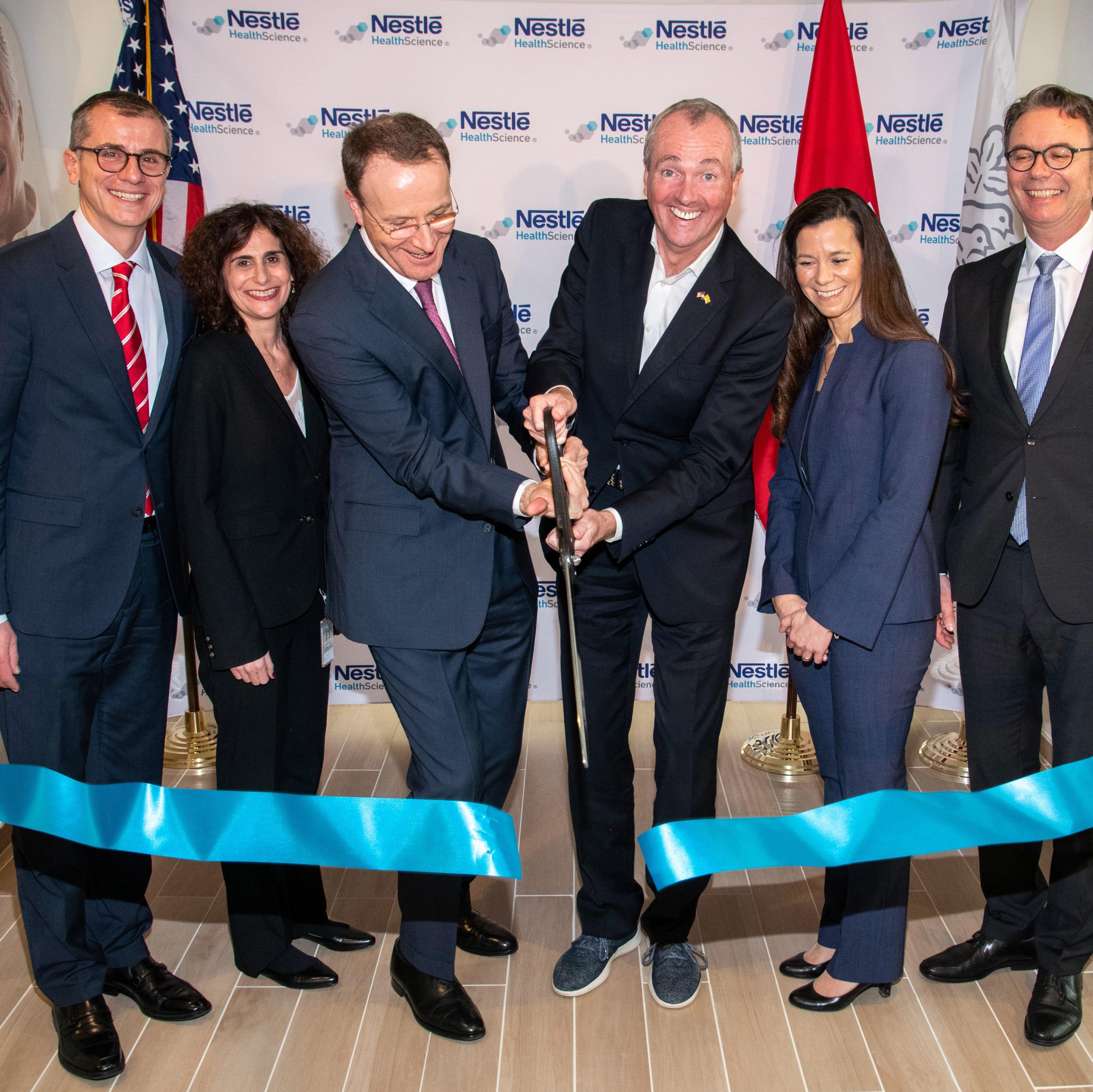 Nestle celebrates new Bridgewater global research and development facility