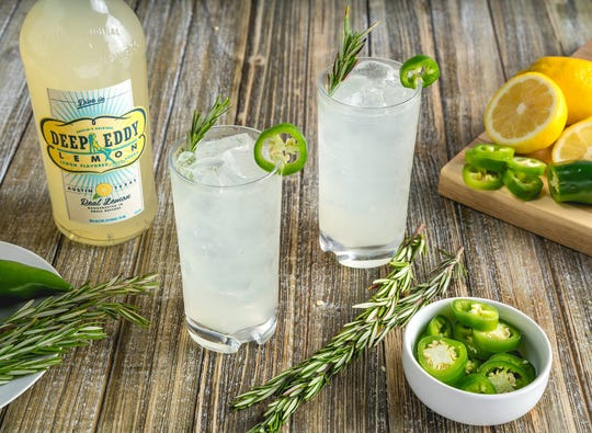Deep Eddy Real Lemon vodka.