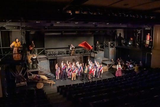 Kent Place upper school presented the musical, , Les Misérables