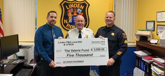 Linden Police Valerie Fund