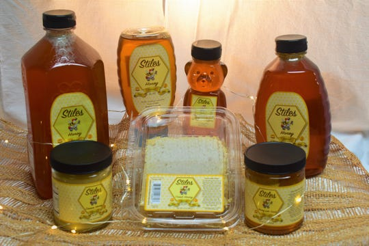 Stiles Honey products.