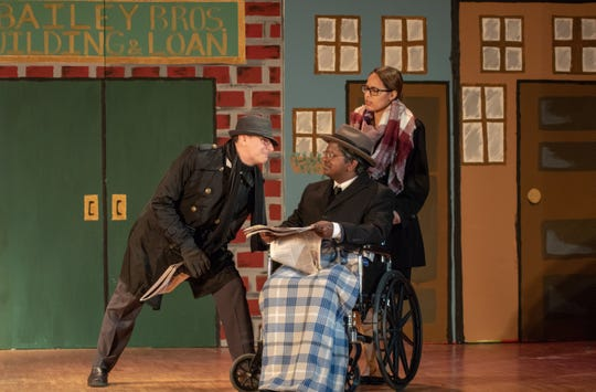 """The theater department of Edison High School will present """"It's A Wonderful Life"""" at 6:30 p.m. Dec. 6, 7 p.m. on Dec. 7 and 2 and 7 p.m. on Dec. 8."""