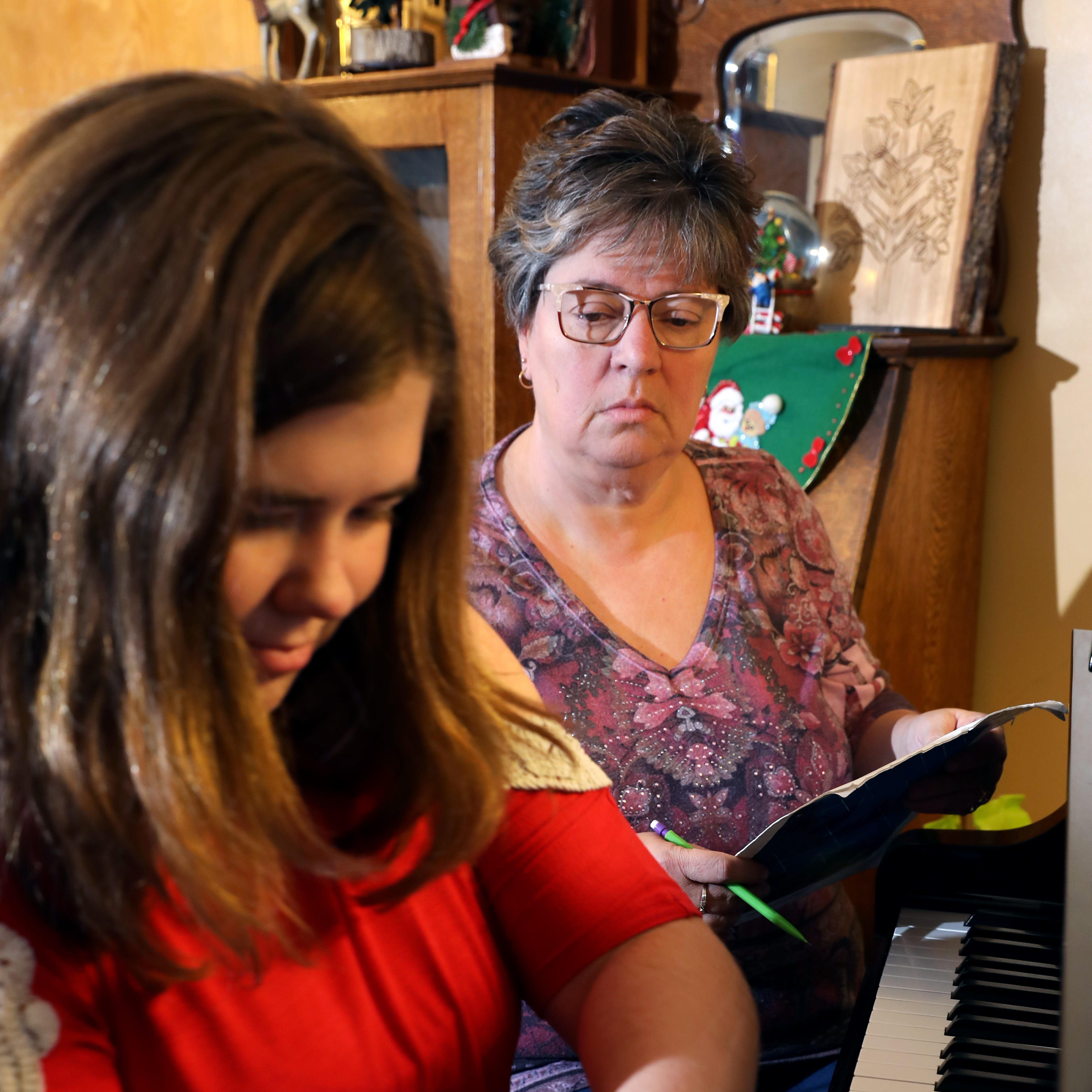 Calling leads to a career for piano instructor