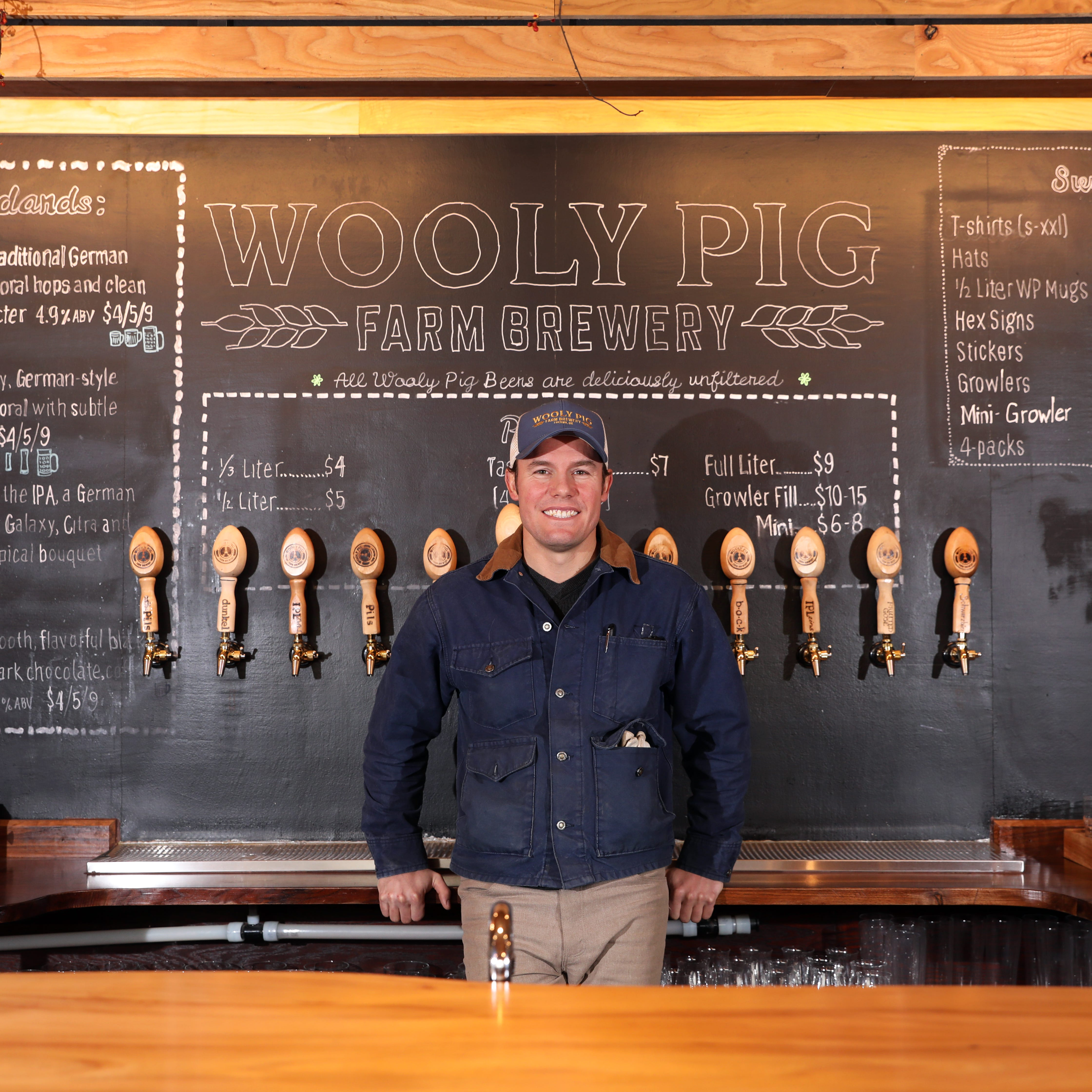 Wooly Pig Farm Brewery - a unique name with unique beer