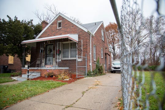 Detroit police say a man who invaded this  home on the city's west side was fatally shot by one of the residents. (Editor's note: This photo has been altered to obscure the street address.)
