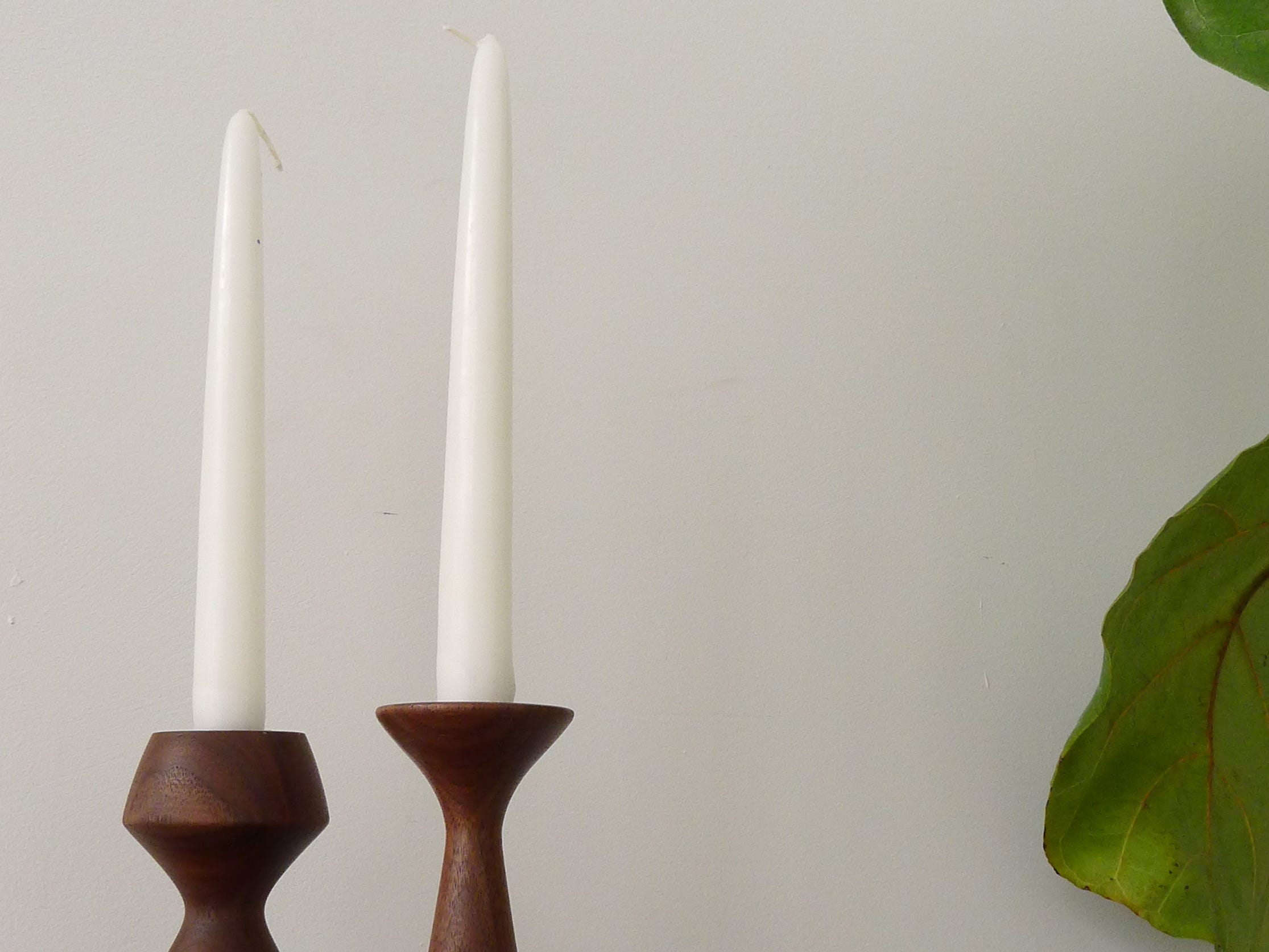 These walnut candlestick holders are hand-crafted by Kyle Huntoon of Hunt & Noyer Woodworks in Detroit. Inspired by Danish, Deco, and midcentury designs, they range in price from $38-$64. They're available at Next:Space's Holiday Small Shop, 2000 Hilton in Ferndale. It's open 12-6 p.m. Thursday through Saturday.