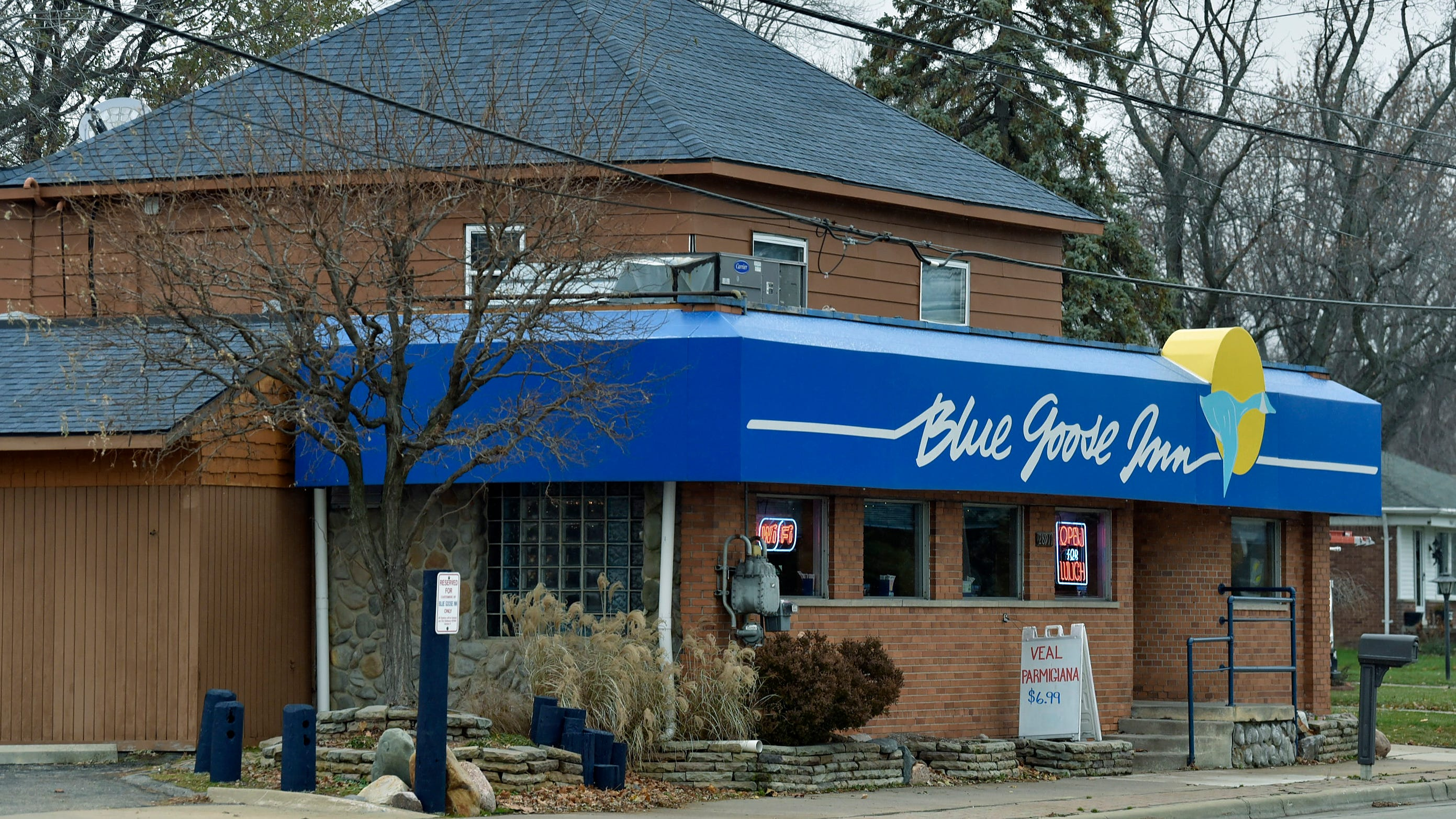The Blue Goose Inn at 28911 Jefferson  in St. Clair Shores opened in 1910 as a saloon and grocery store.