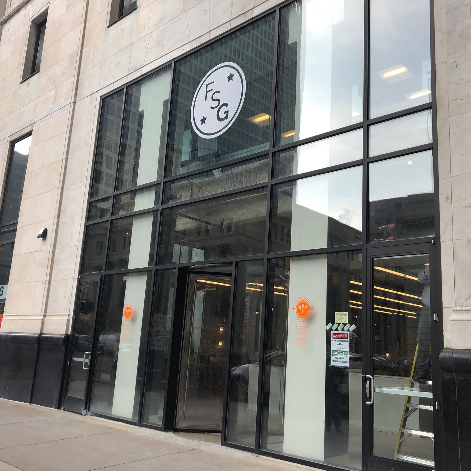 Fort Street Galley food hall opens Friday.