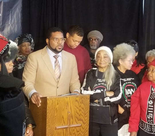 Rev. Charles Williams II, president of the Michigan chapter of the National Action Network, said the group is calling for a moratorium on Detroit tax abatements following General Motors Co.'s announcement last week that it is idling Detroit-Hamtramck Assembly.