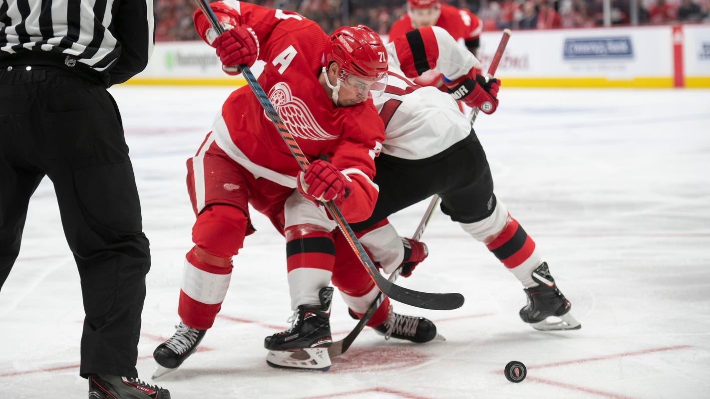 0d39ca509 Detroit Red Wings among NHL's best in faceoffs, but what does it mean?