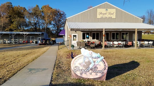 Purple Toad is located two hours away, just outside Paducah, Kentucky. Between the tasting room and charms of Paducah, it's worth the drive.