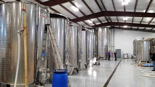 On opening day, Purple Toad had a total of 25 cases of wine bottled. Today the operation is the largest winery in Kentucky.