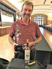 Allen Dossey of Purple Toad Winery was named 2017 Winemaker of the Year at the Indy International Wine competition in Indianapolis.