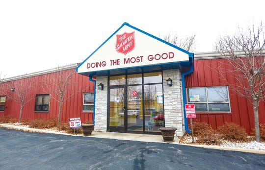 Salvation Army building, Friday, Nov. 30, 2018, at 237 N. Macy St. in Fond du Lac, Wisconsin.