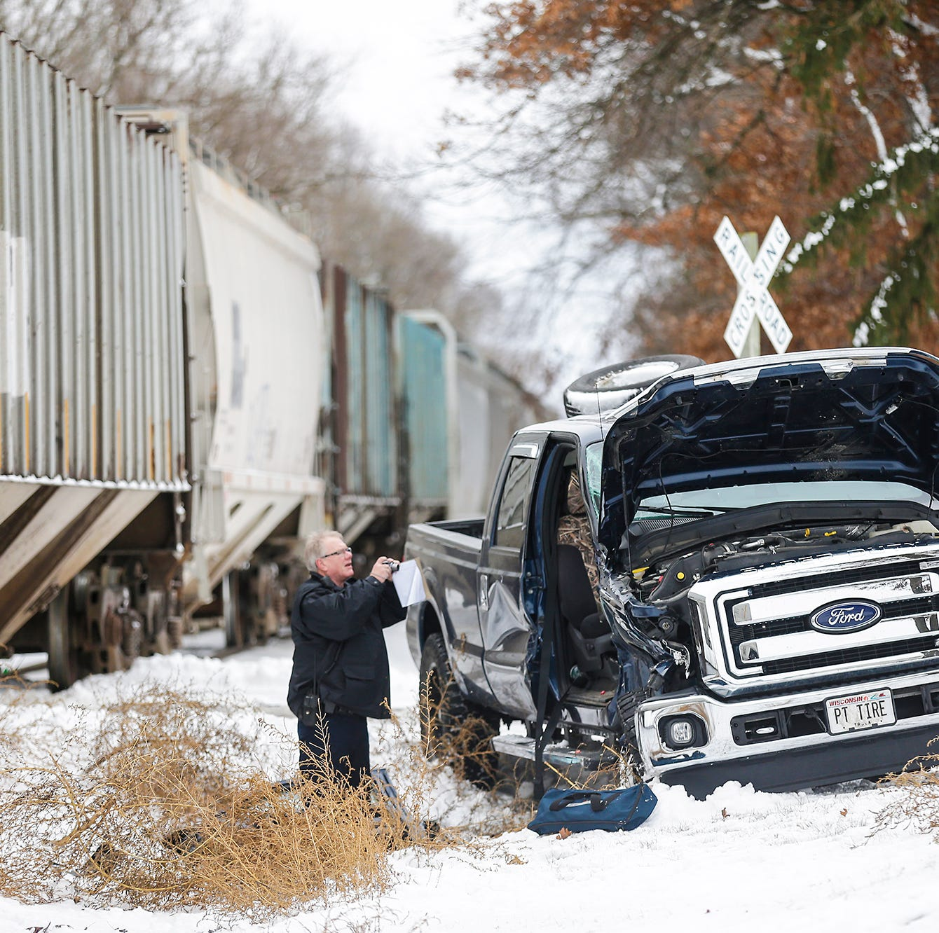 Flight for Life transports one from truck versus train crash in Brandon Monday