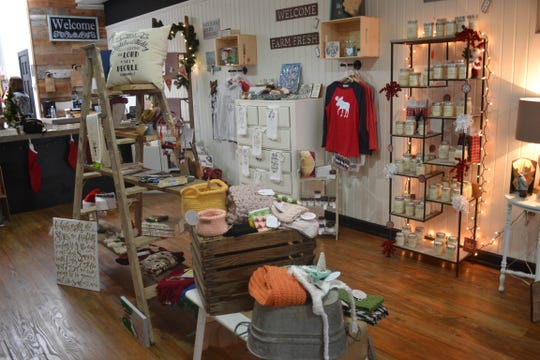 Makers on Main includes handmade items from a variety of local artists who rent space at the shop. Owners Gail McWatters and Amanda Szych are currently accepting new renters.