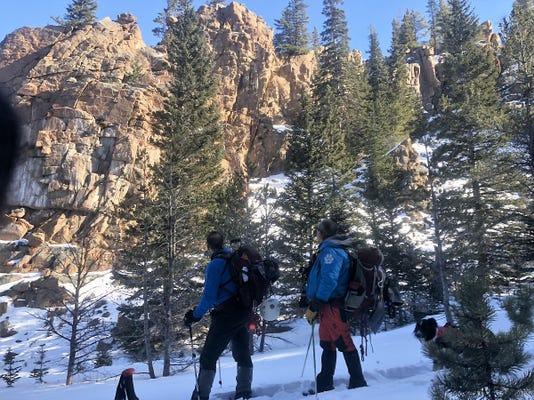 Dog Team December 2 2018 Courtesy Rocky Mountain National Park