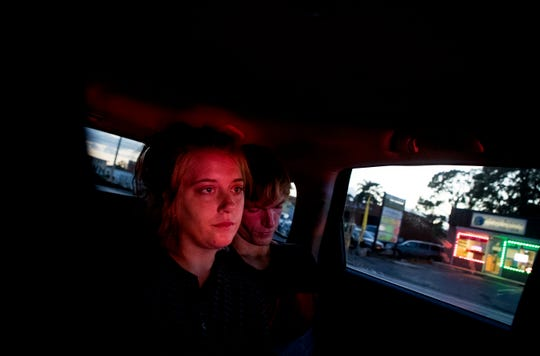 Jessica Weatherley and her boyfriend Brian Cooper get a ride to Jessica's sisters North Fort Myers home from Ramona Miller. Miller was helping them find a detox center to enter. They had made a call to Miller for help in the morning. By that evening, after not being able to find a center where they could go together, they decided to go back out on the streets to use.