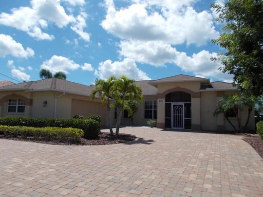 This home at 2034 SE 21st St., Cape Coral, recently sold for $580,000.