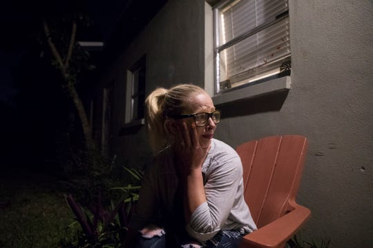 """Willie Weatherley breaks down after trying to coax her sister Jessica Weatherley into detox. """"I hate seeing her like this,"""" says Willie Weatherley about her sister. Willie went through similar circumstances but is now in recovery. She is a support system for her fentanyl addicted sister."""