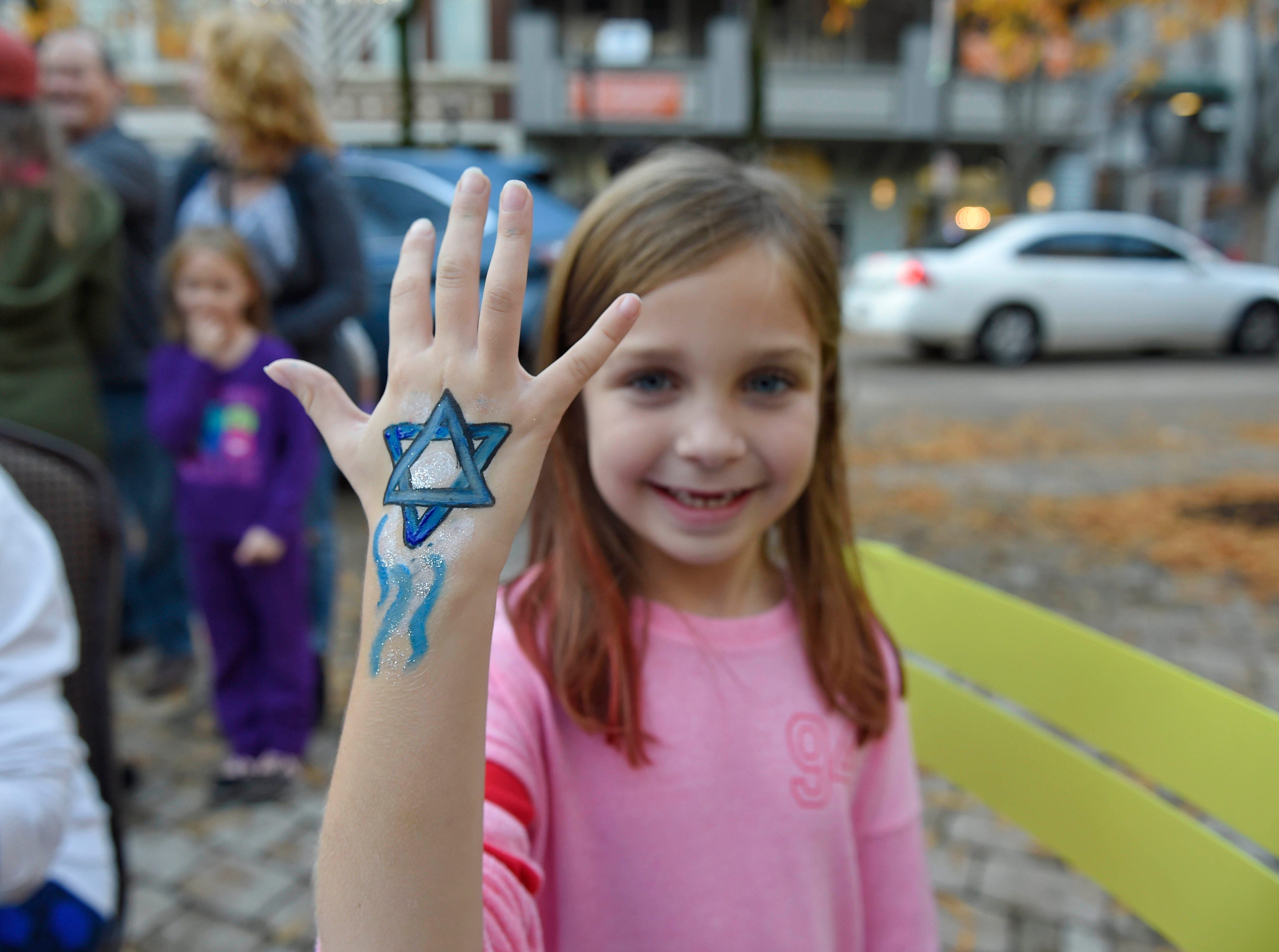 The annual Jewish celebration of Chanukah was kicked off with the lighting of the Menorah at NOMA Square Sunday, Dec. 2, 2018.