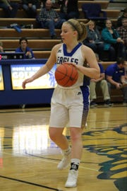 Kaitlyn Anderson during her season season in Lewistown