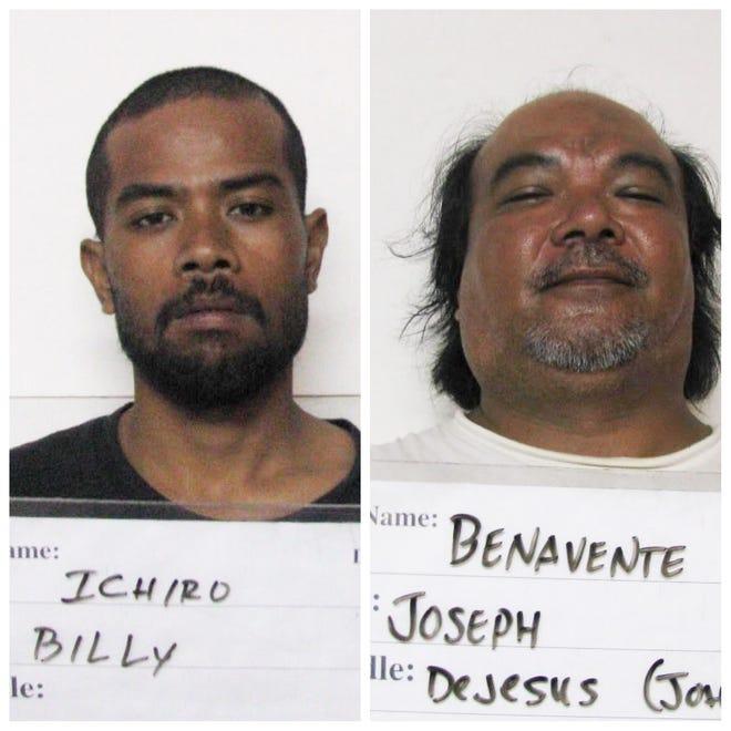 Billy Ichiro and Joseph De Jesus Benavente shown in this combined photo