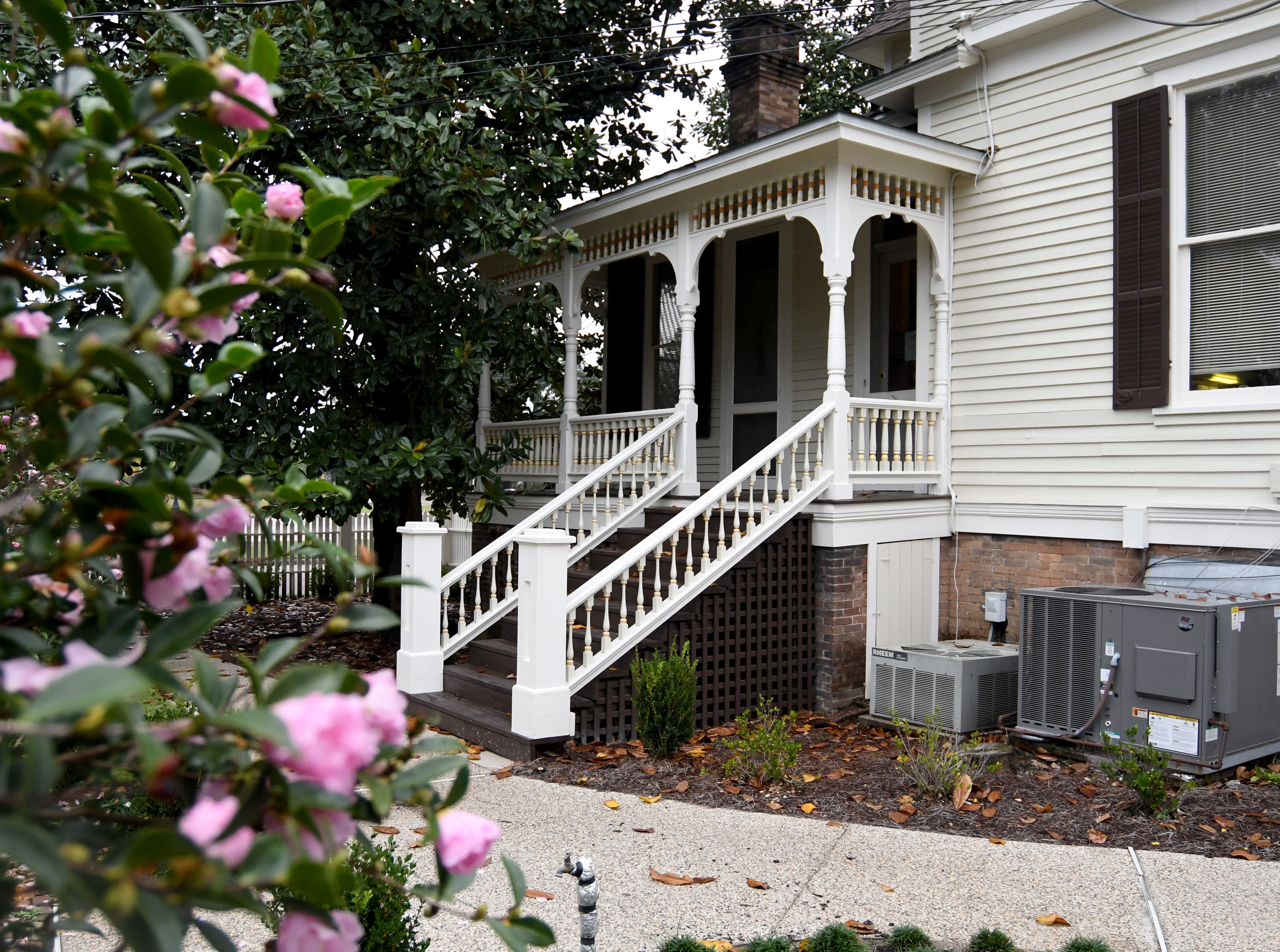 The Deakle Law Firm in Hattiesburg is located in an historic house originally home to the McLeod family.