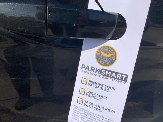 Hattiesburg police are asking residents to lock their vehicles to help prevent some break-ins.