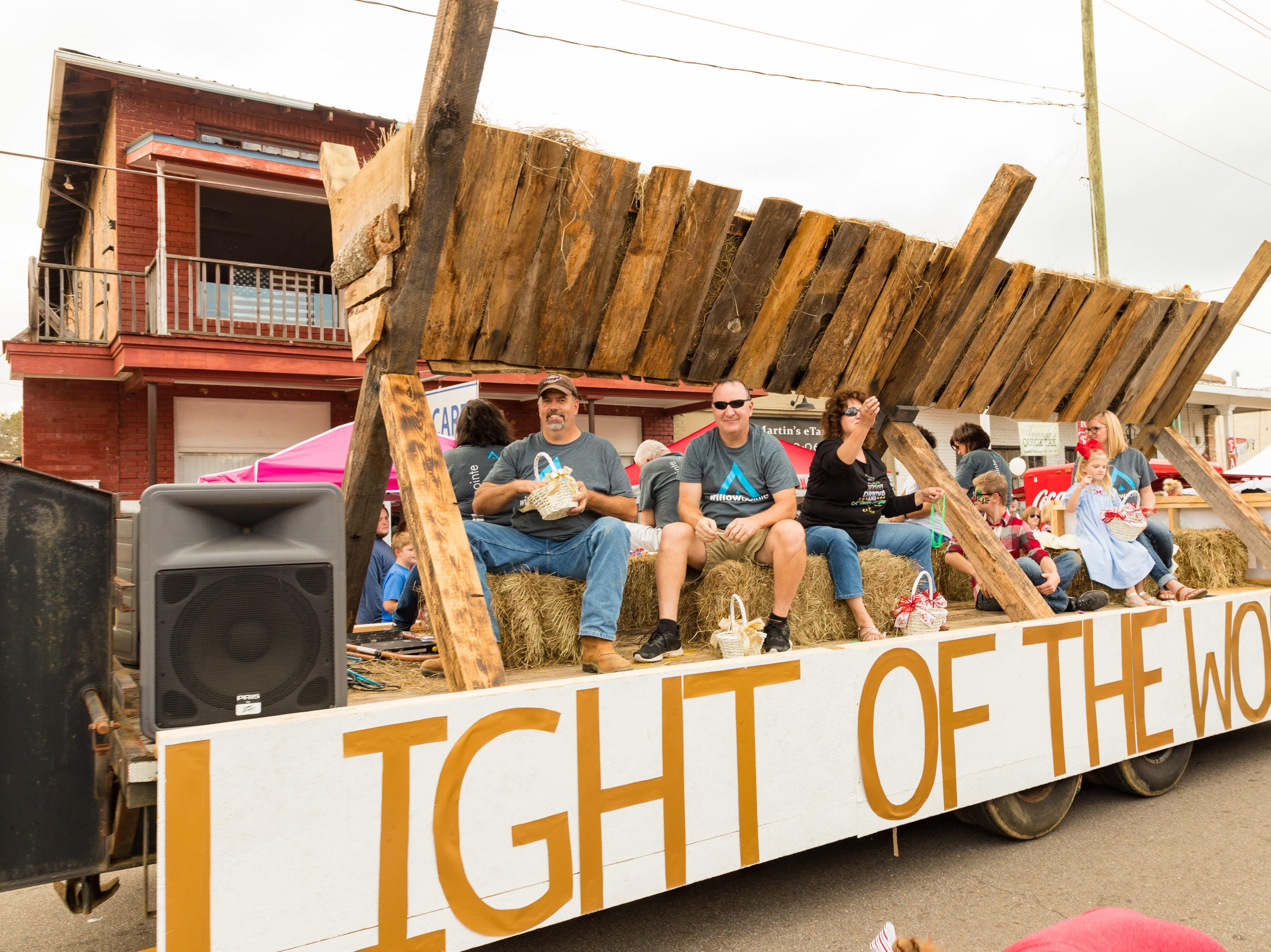 The Christmas Parade rolls through downtown Sumrall on Saturday, December 1, 2018.