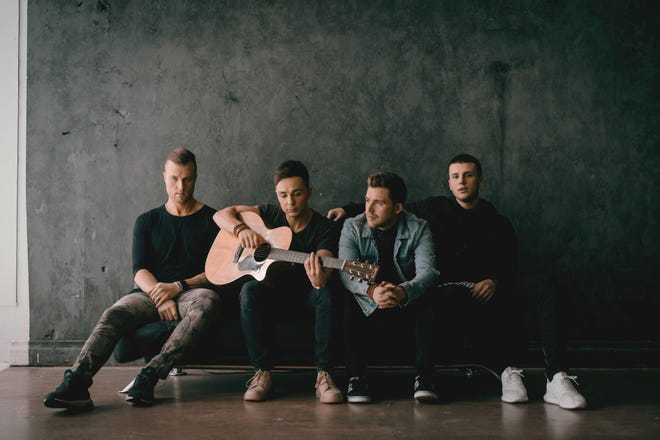 The Christian-pop vocal group Anthem Lights, a foursome with more than a 150 million YouTube views, will be performing a Christmas-pop music show at the Preston Arts Center at 7:30 p.m. this Saturday, Dec. 8. Members of the group include Chad Graham, Joey Stamper, Caleb Grimm and Spencer Kane.