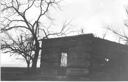 Muddy Waters' cabin on Stovall Plantation, about nine miles from Clarksdale.