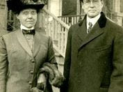 Ellen McClung Green and her husband, Judge John Green. The couple left money in their wills to create the McClung Museum.