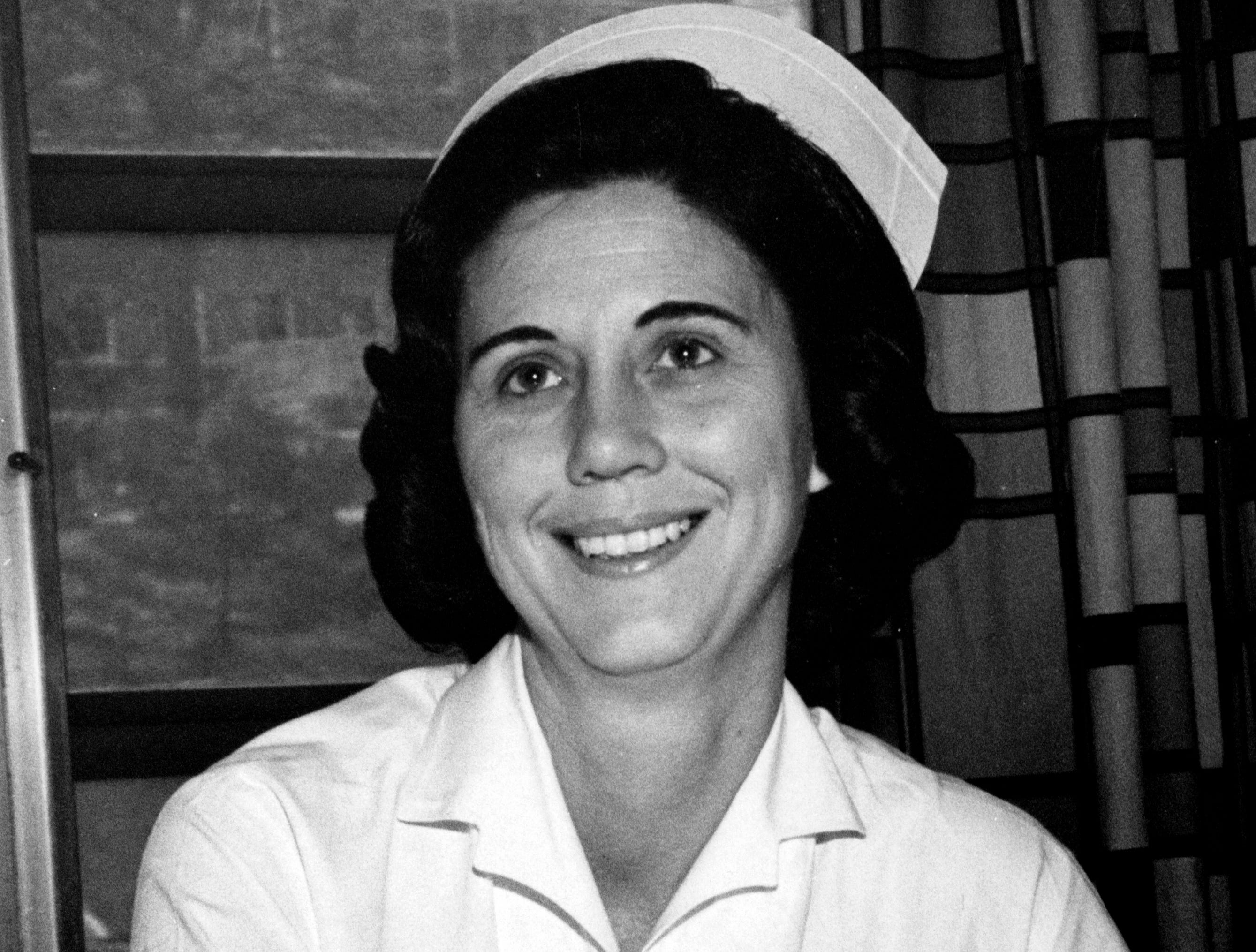 Margaret Heins, RN, served as director at St. Mary's School of Nursing from 1962 until it closed in 1988.