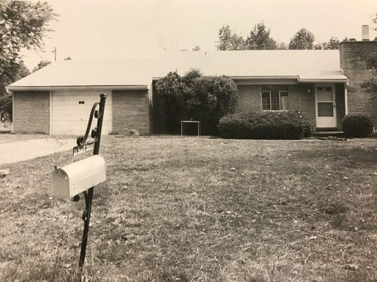Dorothy Sutton's home in Hamblen County's Lowland community is pictured in 1980.