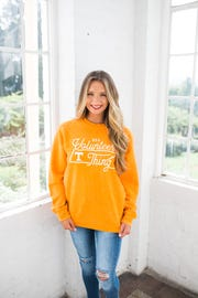 "This ""It's a Volunteer Thing"" sweatshirt is available at Josie's Boutique."