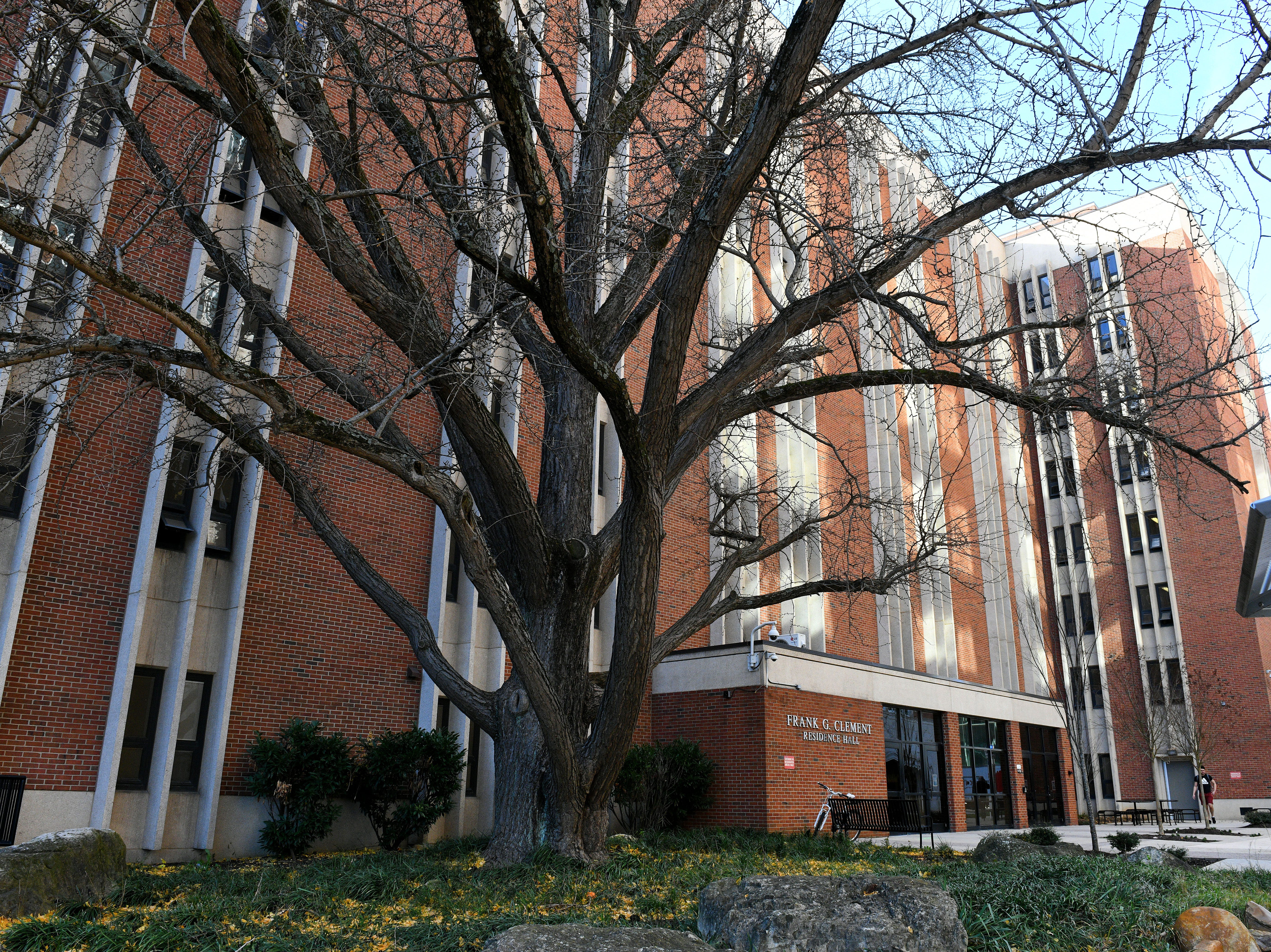 Clement Hall, 1629 West Cumberland Avenue, Knoxville, on the UTK campus Monday, Dec. 3, 2018. Originally named Cumberland Hall, Clement Hall was renamed in honor of former Governor Frank G. Clement. Clement Hall is consists of 8 floors and 698 spaces in traditional suite-style rooms.