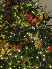Indiana has its place among the Christmas decorations at the White House. Dana Vann, a Greater Lafayette Gold Star Mother, was among the volunteers who spent six days helping to decorate the White House for Christmas this year.