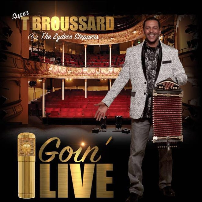 """""""Goin' Live"""" is the latest CD from T Broussard and the Zydeco Steppers."""