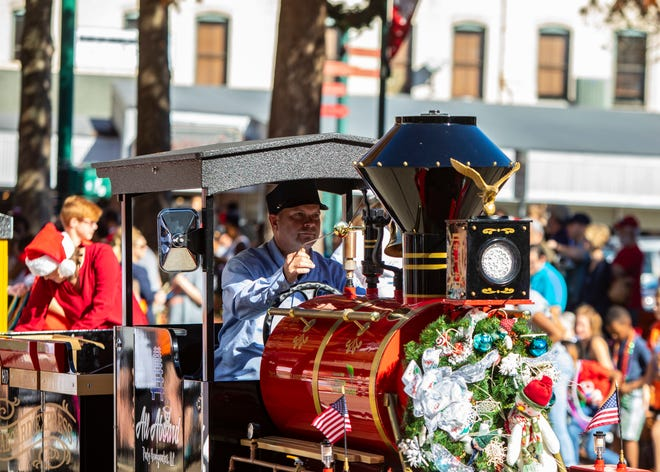 The Sonic Christmas Parade rolls Sunday at 1 p.m.