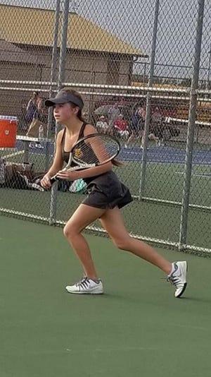 Bloom-Carroll senior Stephanie Graham is the 2018 Eagle-Gazette Tennis Player of the Year.