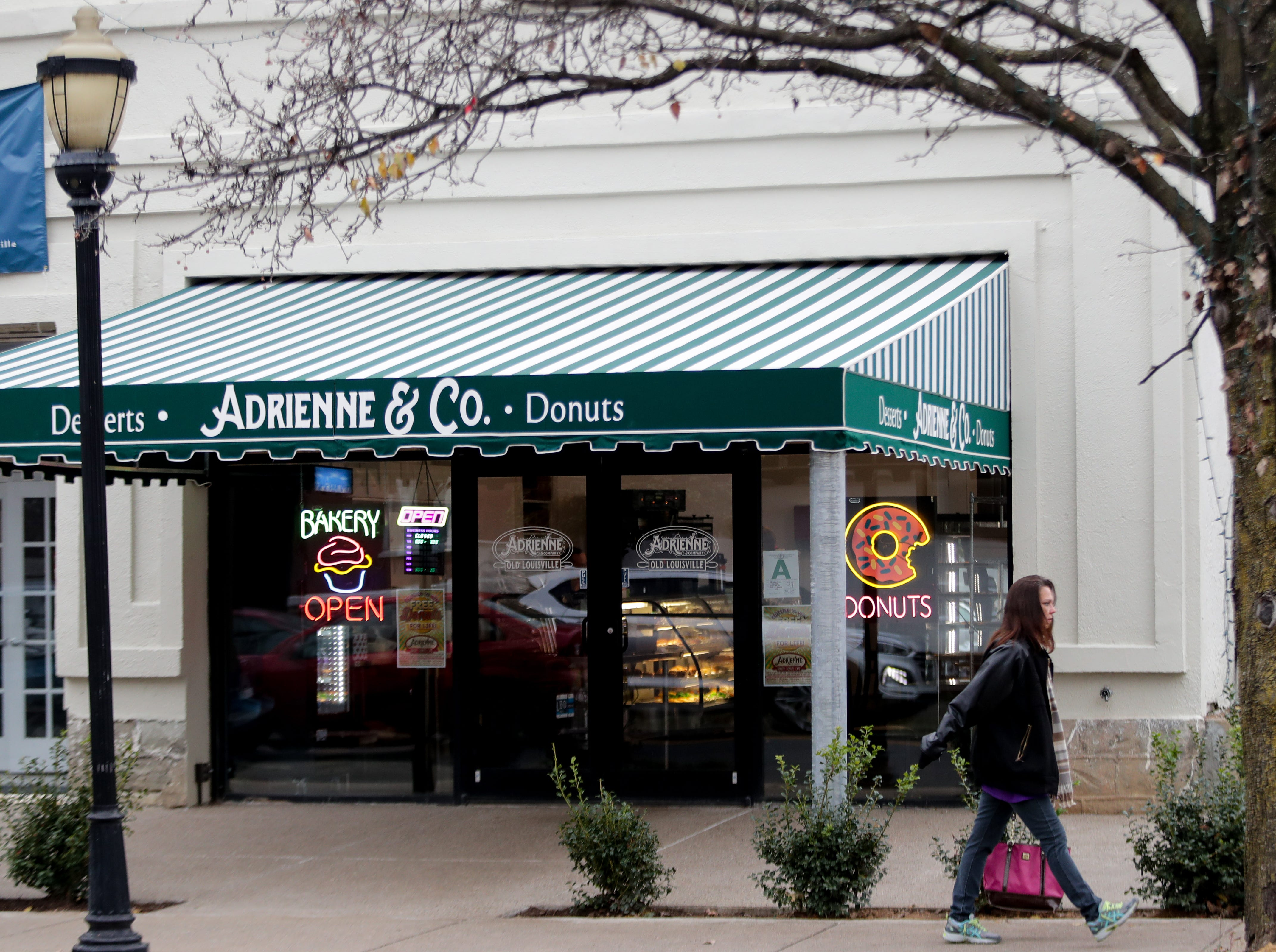 Adrienne and Co. Bakery in Old Louisville.
