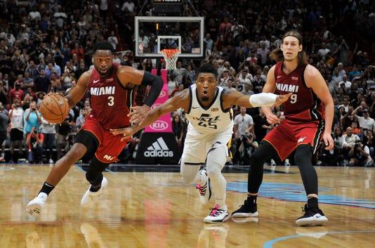 NBA star Dwyane Wade lauds Donovan Mitchell