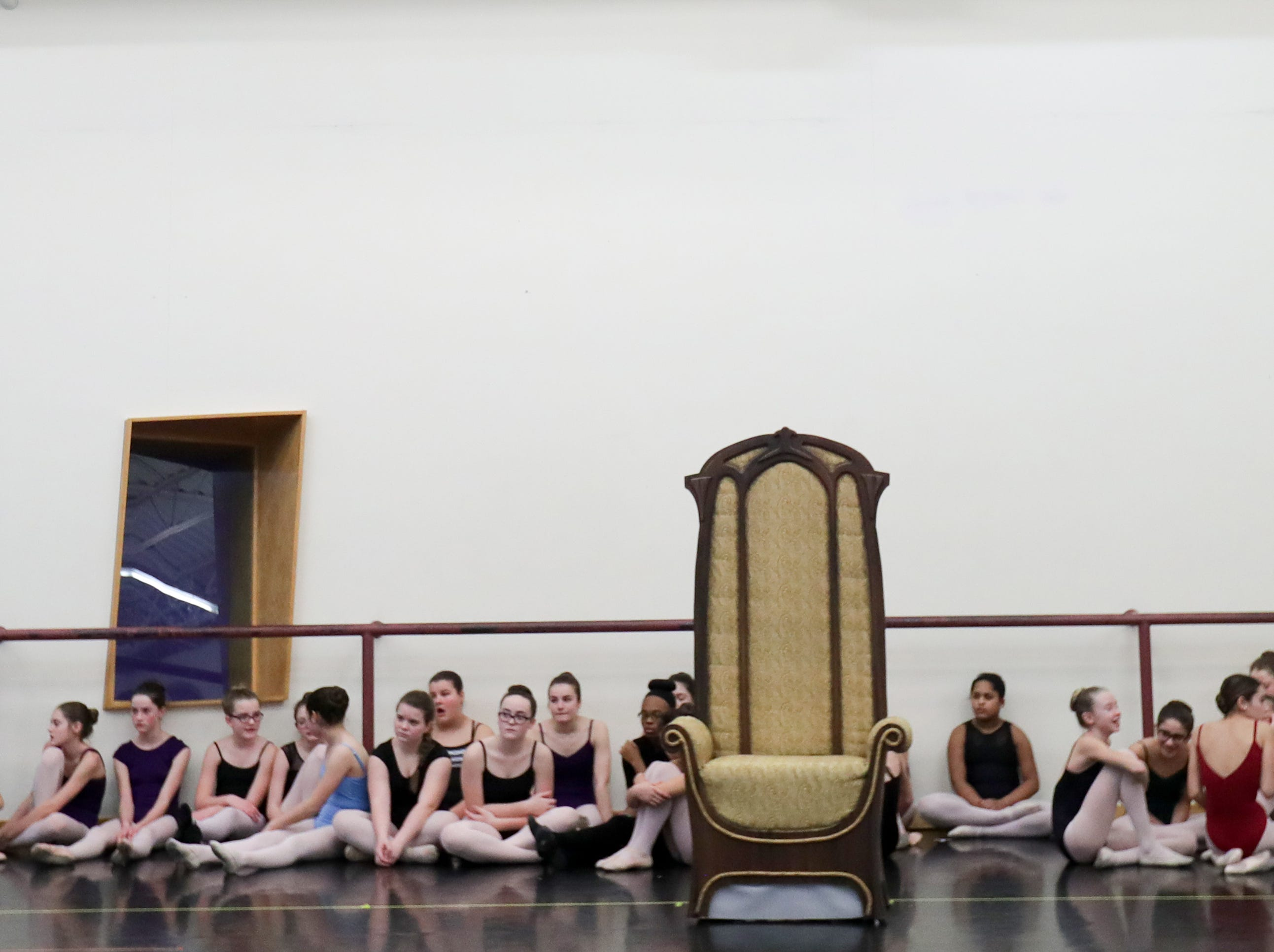 Rehearsal for an upcoming production of the Nutcracker.